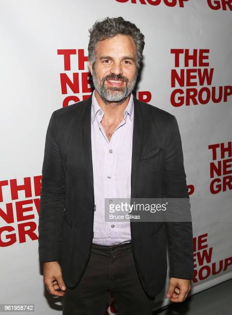 Mark Ruffalo poses at the opening night after party for The New Group Theater's new play Peace For Mary Frances at The Yotel Social Drink Food Club...