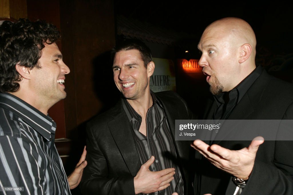 Mark Ruffalo, Tom Cruise and Joe Carnahan during Premiere Magazine's 'The New Power' - Inside at Forbidden City in Hollywood, California, United States.