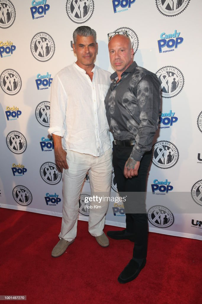 Mark Ruiz and guest attend 2018 The Hunter Foundation Gala at Hammerstein Ballroom on July 18, 2018 in New York City.