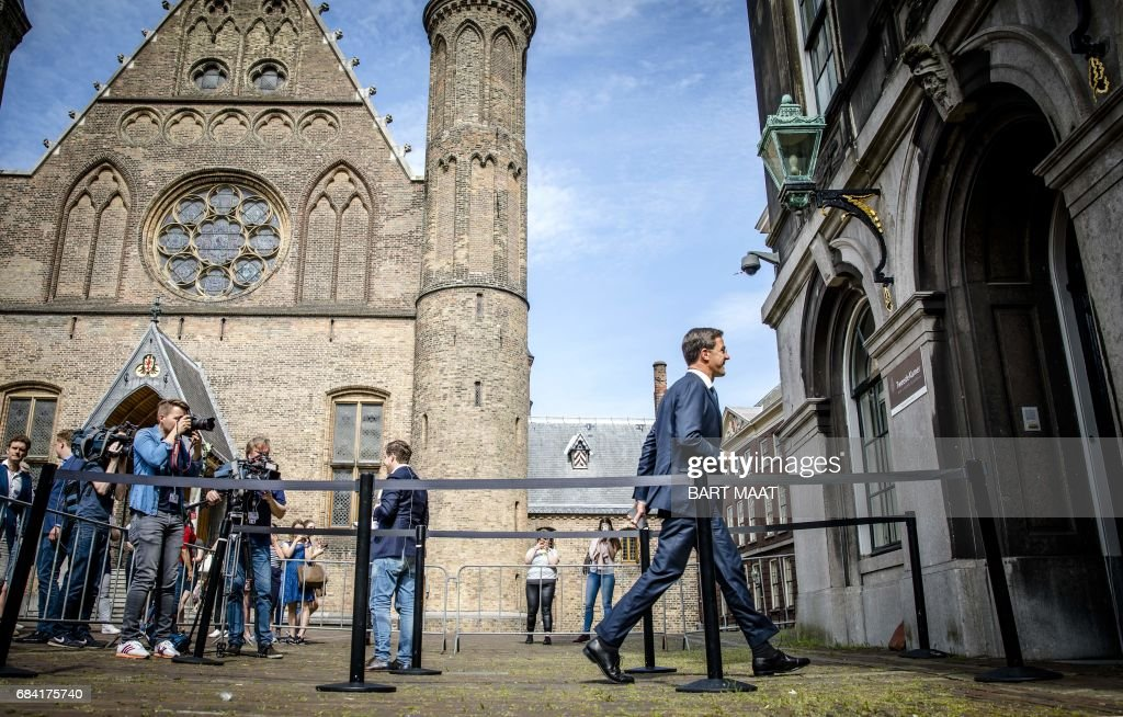 NETHERLANDS-POLITICS-GOVERNMENT : News Photo