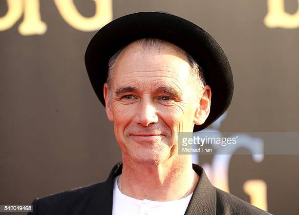 Mark Rylance arrives at the Los Angeles premiere of Disney's The BFG held at the El Capitan Theatre on June 21 2016 in Hollywood California