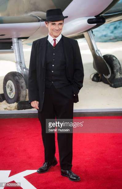 Mark Rylance arriving at the 'Dunkirk' World Premiere at Odeon Leicester Square on July 13 2017 in London England