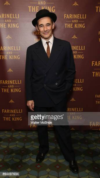 Mark Rylance attends the Broadway opening night performance After Party for 'Farinelli and the King' at The Belasco Theatre on December 17 2017 in...