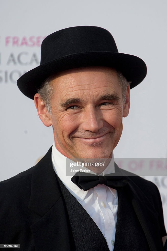 Mark Rylance attends the House Of Fraser British Academy Television Awards 2016 at the Royal Festival Hall on May 8, 2016 in London, England..