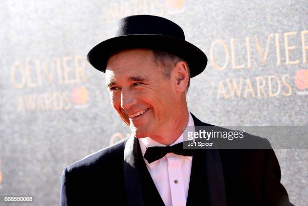 Mark Rylance attends The Olivier Awards 2017 at Royal Albert Hall on April 9 2017 in London England