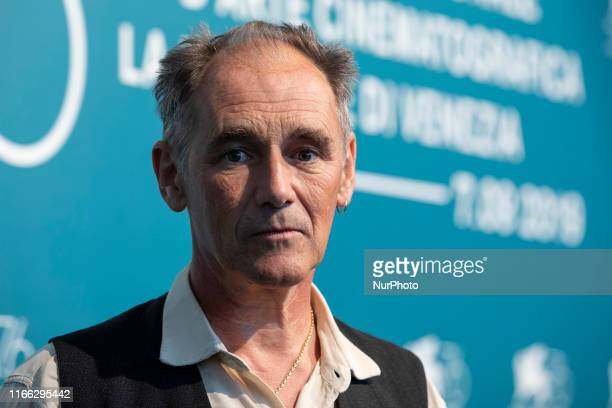 Mark Rylance attends ''Waiting For The Barbarians'' photocall during the 76th Venice Film Festival on September 06, 2019 in Venice, Italy.