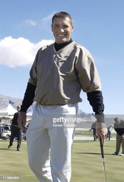 Mark Rypien during Las Vegas Celebrity Golf Classic Pro AM at Silverstone Golf Course in Las Vegas, Nevada, United States.