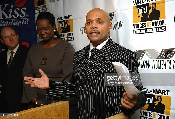Mark S Jaffe President and CEO of Greater New York Chamber of Commerce Tera Renee Founder and President of AfricanAmerican Women in Cinema Festival...