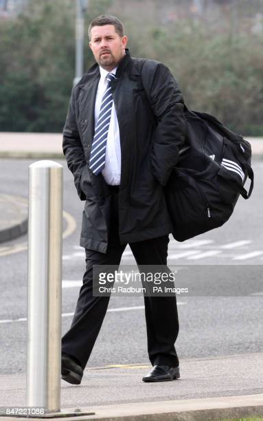 Mark Sadgrove from Loughton Essex arrives at Ipswich Crown Court Ipswich PRESS ASSOCIATION Photo Picture date Friday February 24 2012 An...