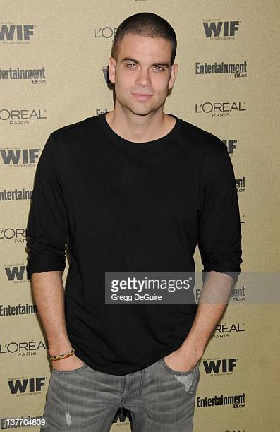 Mark Salling arrives at the Entertainment Weekly and Women In Film PreEmmy Party at the 'Restaurant' at the Sunset Marquis Hotel on August 27 2010 in...