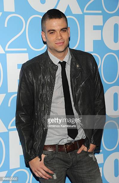 Mark Salling attends the 2010 FOX Upfront after party at Wollman Rink Central Park on May 17 2010 in New York City