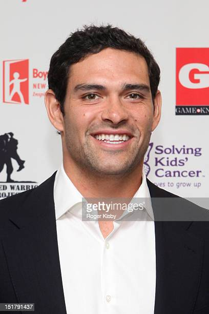 Mark Sanchez attends Annual Charity Day hosted by Cantor Fitzgerald and BGC Partners on September 11 2012 in New York United States