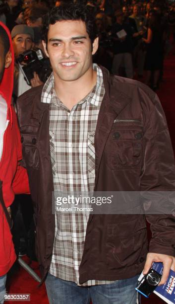 Mark Sanchez attends the premiere of 'Date Night' at the Ziegfeld theater on April 6 2010 in New York New York