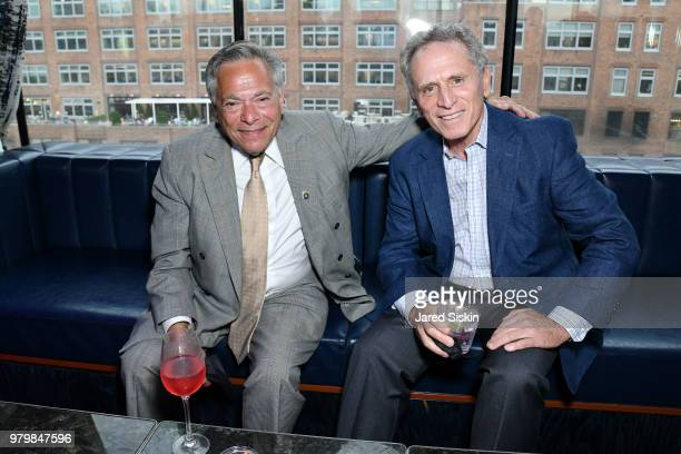 Mark Sand and Bill Martini attend The Next Generation Board of The TEAK Fellowship Presents A Midsummer Night at PhD Lounge at the Dream Downtown New...