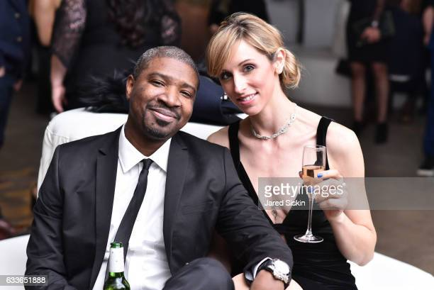 Mark Scantlebury and Beth Cooper attend the Eklund|Gomes 10 Year Anniversary Bash at The Garage in NYC on February 2 2017 in New York City