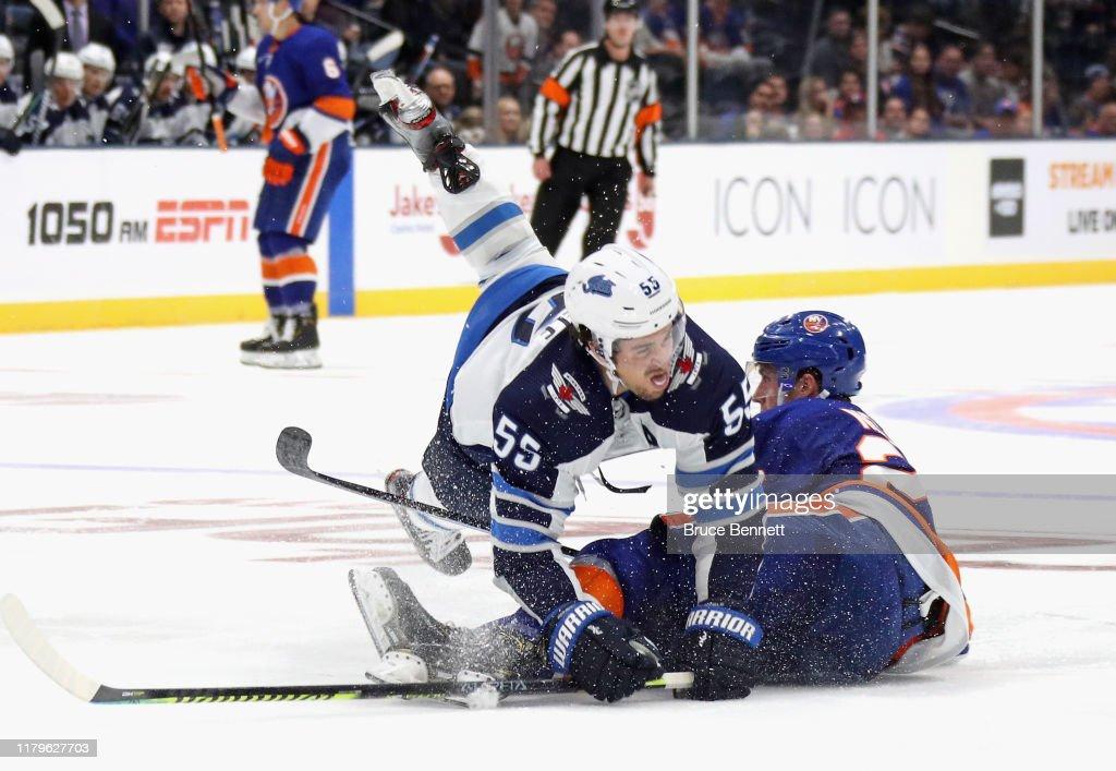 Winnipeg Jets v New York Islanders : News Photo