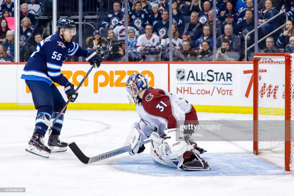 Colorado Avalanche v Winnipeg Jets : News Photo