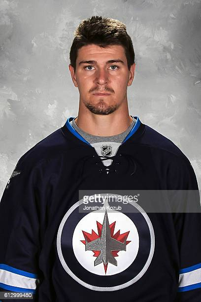 Mark Scheifele of the Winnipeg Jets poses for his official headshot for the 20162017 season on September 22 2016 at the MTS Centre in Winnipeg...
