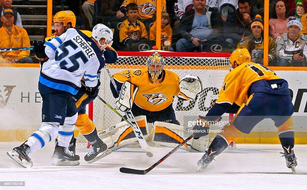Winnipeg Jets v Nashville Predators : News Photo