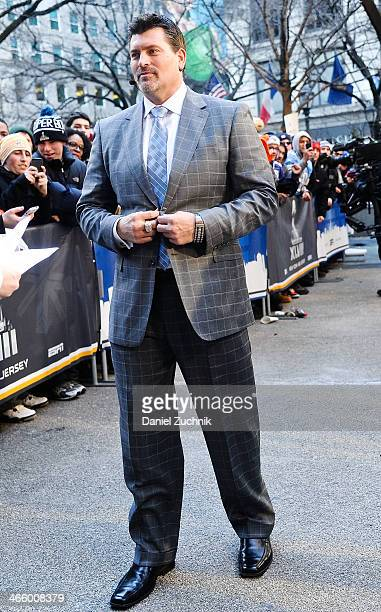 Mark Schlereth attends Super Bowl Boulevard on January 30 2014 in New York City