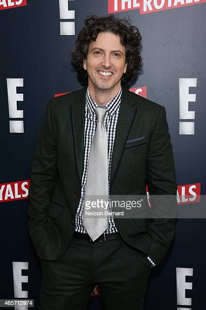 Mark Schwahn attends 'The Royals' New York Series Premiere at The Standard Highline on March 9 2015 in New York City