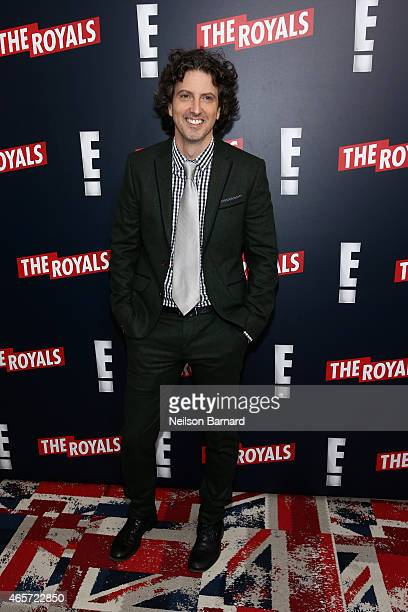 Mark Schwahn Creator Producer and Writer of The Royals attends 'The Royals' New York Series Premiere at The Standard Highline on March 9 2015 in New...