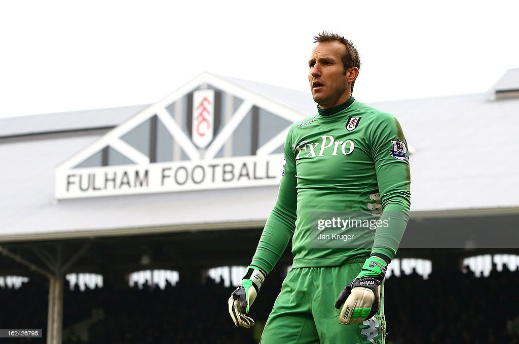 Fulham v Stoke City - Premier League : News Photo