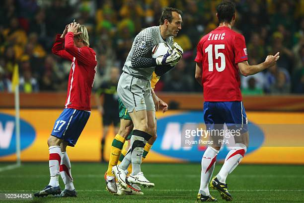 Mark Schwarzer of Australia in action during the 2010 FIFA World Cup South  Africa Group D b4e4688756ecf