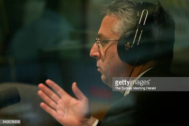 Mark Scott editorial director of John Fairfax Holdings prior to an interview on ABC Radio's World Today program after the announcement of his...