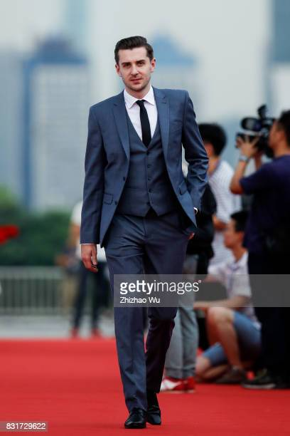 Mark Selby attends the red carpet for the Evergrande 2017 World Snooker China Championship on August 15 2017 in Guangzhou China