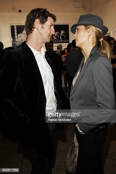 Mark Seliger and Manon Von Gerkan attend Private Viewing of 'Merce My Way' By Mikhail Baryshnikov at 401 Projects on March 15 2008 in New York City