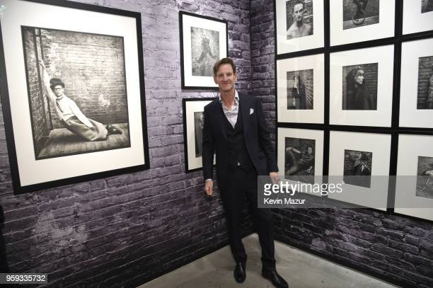 Mark Seliger poses during a private viewing of 'Photographs' at Chase Contemporary on May 16 2018 in New York City