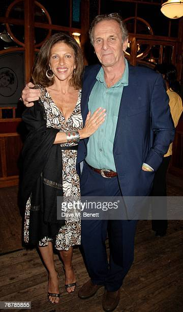 Mark Shand and Clio Goldsmith attend the Quintessentially Trunk Party at The Serpentine Lido on September 16 2007 in London England