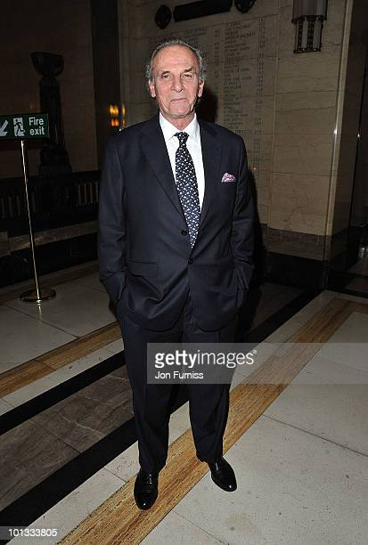 Mark Shand attends the Quintessentially Awards at Freemasons Hall on June 1 2010 in London England