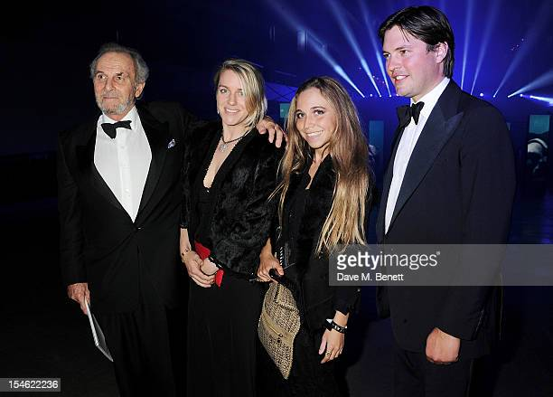 Mark Shand Laura Lopes Ayesha Shand and Harry Lopes attend an after party for the Royal World Premiere of 'Skyfall' at the Tate Modern on October 23...