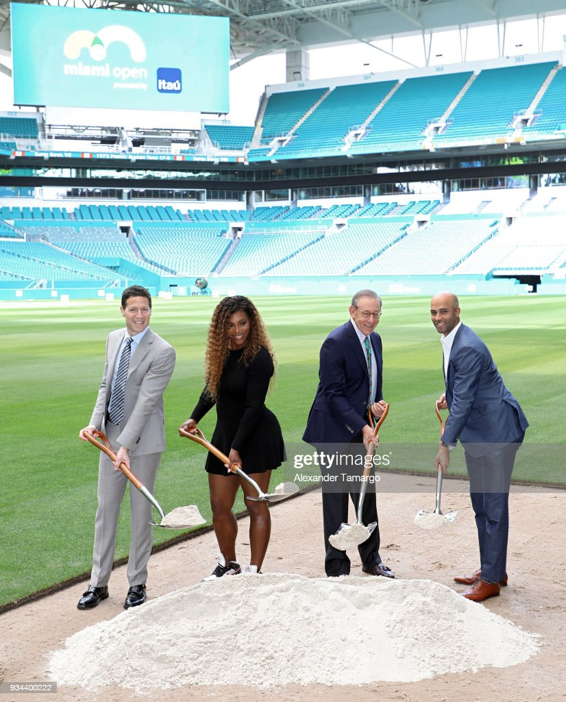 2018 Miami Open Hard Rock Stadium Ground Breaking Ceremony