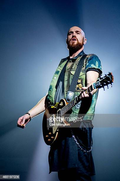 Mark Sheehan of The Script performs at Nottingham Capital FM Arena on March 3 2015 in Nottingham England