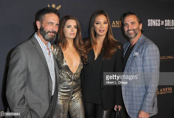 Mark Sherman Jessica Uberuaga Alex Meneses and Mike Hatton attend the Private Screening Of Songs Of Solomon held at TCL Chinese Theatre on October 22...
