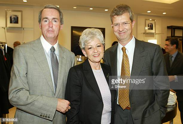 Mark Shulman COO of Brooks Brothers Kathy Self and Claudio Del Vecchio CEO of Brooks Brothers