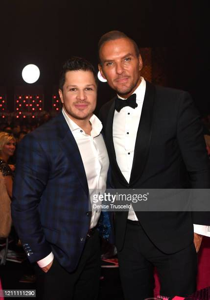Mark Shunock and Matt Goss attend the 24th annual Keep Memory Alive 'Power of Love Gala' benefit for the Cleveland Clinic Lou Ruvo Center for Brain...
