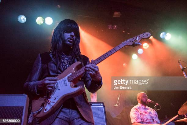 Mark Speer and Donald Johnson Jr of Khruangbin perform live on stage at The Showbox on November 18 2017 in Seattle Washington