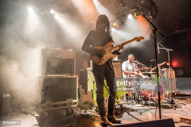 Mark Speer and Donald Johnson Jr of Khruangbin performs live on stage at The Showbox on November 18 2017 in Seattle Washington