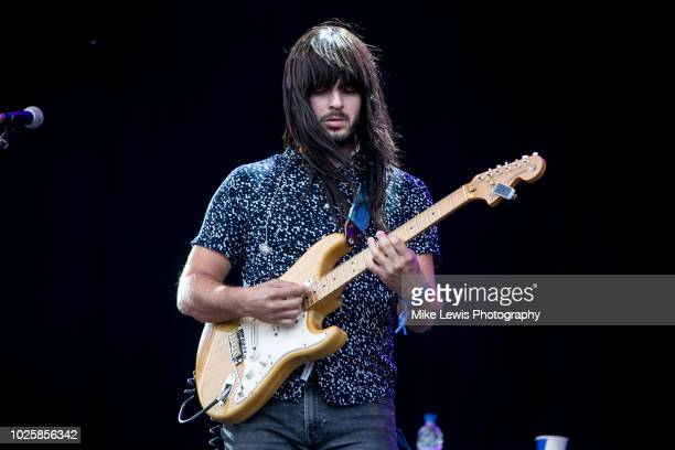 Mark Speer of Khruangbin performs at The Downs Festival on September 1 2018 in Bristol England