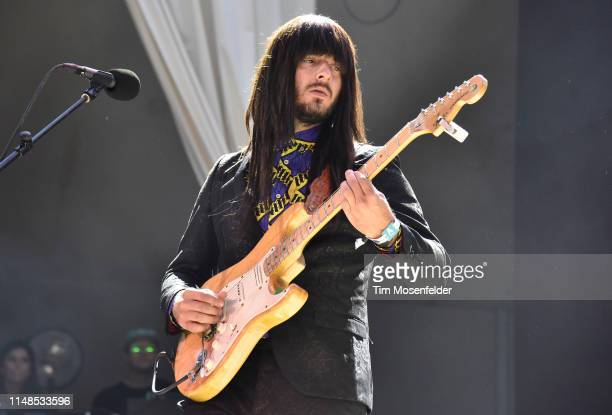 Mark Speer of Khruangbin performs during FORM Arcosanti 2019 at Arcosanti Urban Laboratory on May 11 2019 in Arcosanti Arizona