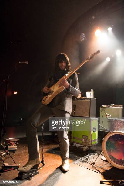 Mark Speer of Khruangbin performs live on stage at The Showbox on November 18, 2017 in Seattle, Washington.