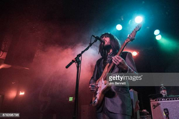 Mark Speer of Khruangbin performs live on stage at The Showbox on November 18 2017 in Seattle Washington