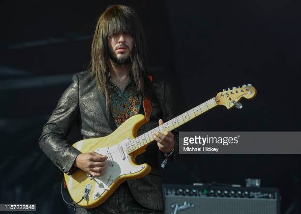 Mark Speer of Khruangbin performs on day three of the Pitchfork Music Festival at Union Park on July 21, 2019 in Chicago, Illinois.
