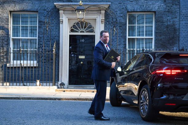 GBR: U.K. PM Johnson Hosts A Meeting Of Cabinet Ministers