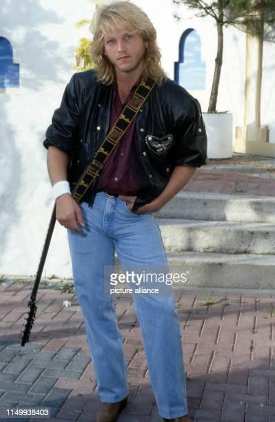 Mark Spiro amerikanischer Songschreiber und Produzent in Lippstadt Deutschland 1985 American song writer and producer Mark Spiro at Lippstadt Germany...