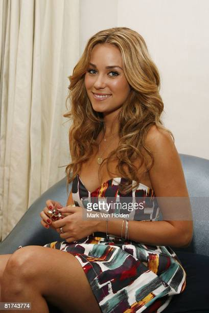 Mark spokesperson Lauren Conrad poses wearing jewelry from her new accessories collaboration with Mark at the launch of the Girl's mpowerment...